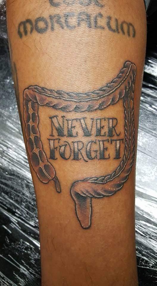 Rob b for Love n hate tattoo